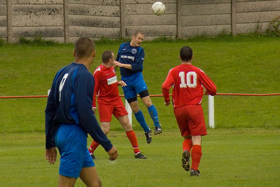 Sean Stirling clearing for Greenock