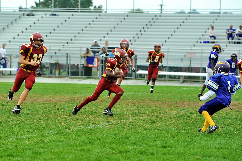 NB Little Lions Midgets vs  Hazelwood 13