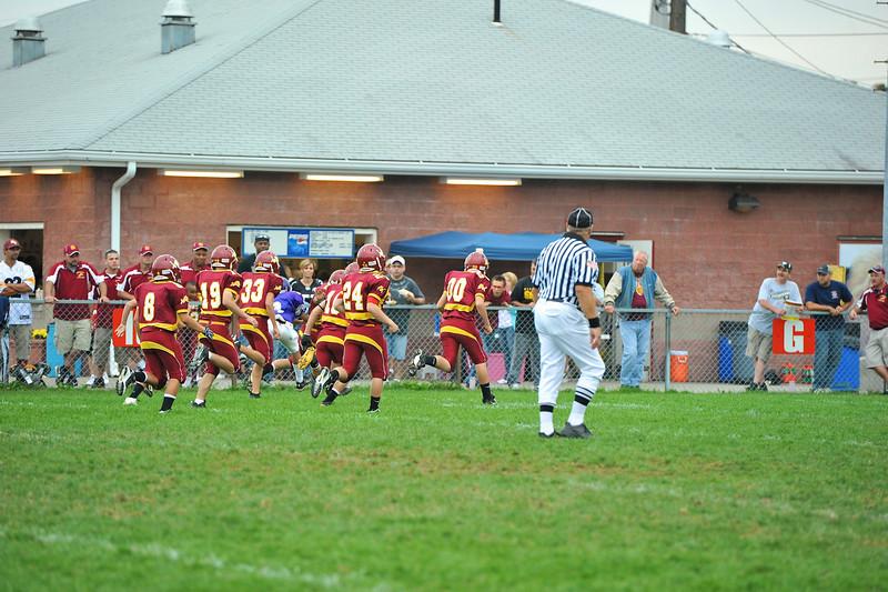 NB Little Lions Midgets vs  Hazelwood 5