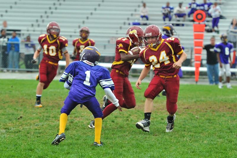 NB Little Lions Midgets vs  Hazelwood 16