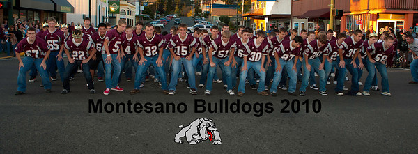 Montesano homecoming and bonfire 2010