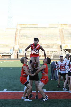 2010 La Porte High School Powder Puff Game 9/29/2010