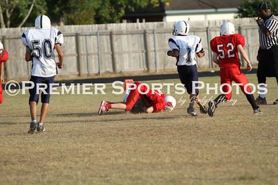 Lomax 8th B Football vs Deepwater 10/20/2010