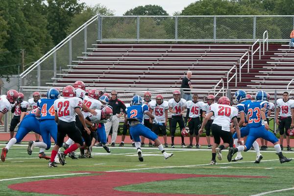 2011-09-17 Dayton Boys Varsity Football vs Bound Brook