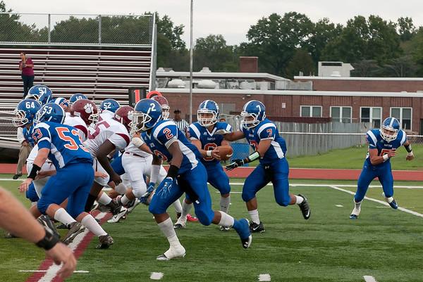 2011-10-01 Dayton Boys Varsity Football vs Roselle Park