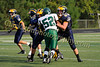 2011 Clarkston Freshman Football vs  West Bloomfield 023