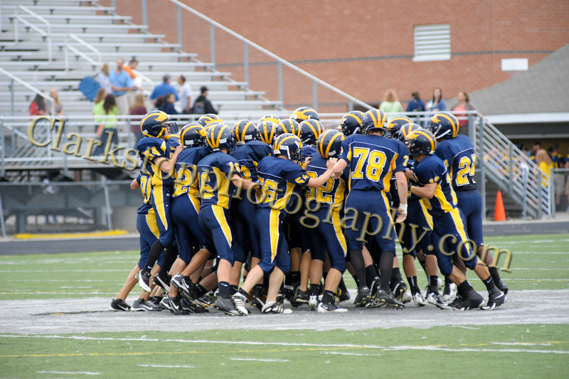 2011 Clarkston JV Football vs  Adams 005