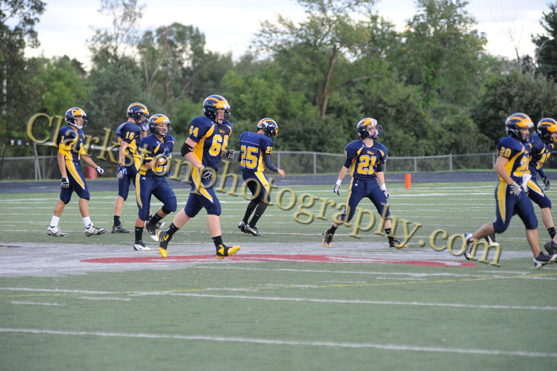 Clarkston JV Football vs Troy image 1697