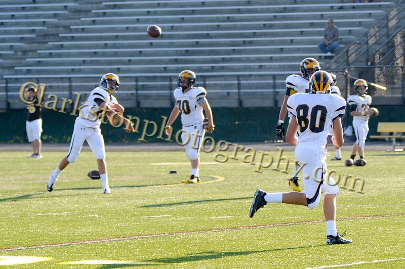 2011 Clarkston Varsity Football vs  Adams 001
