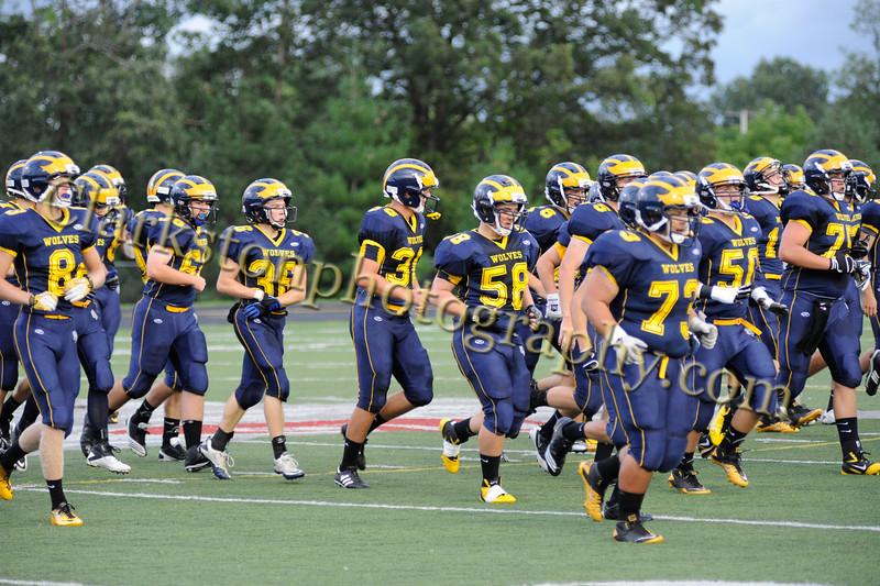 2011 Clarkston Varsity Football vs  Athens 029
