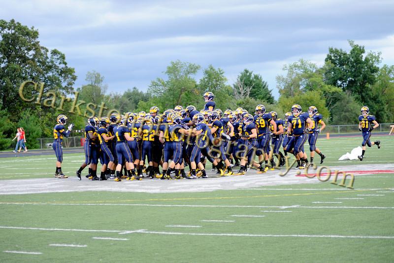 2011 Clarkston Varsity Football vs  Athens 027