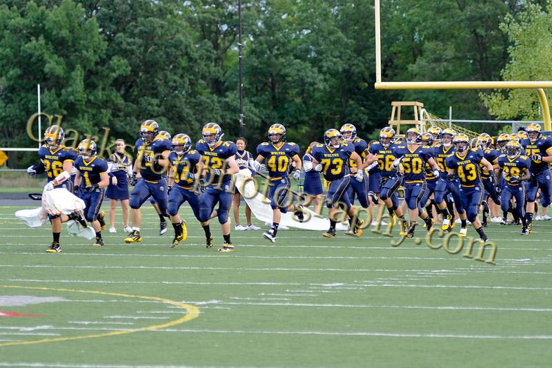 2011 Clarkston Varsity Football vs  Athens 023