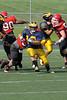 2011 Clarkston Varsity Football Scrimmage 016