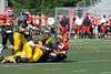 2011 Clarkston Varsity Football Scrimmage 056