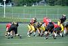 2011 Clarkston Varsity Football Scrimmage 029