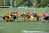2011 Clarkston Varsity Football Scrimmage 014