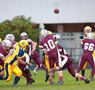 Montesano HS vs. Forks HS, jv, October 10, 2011