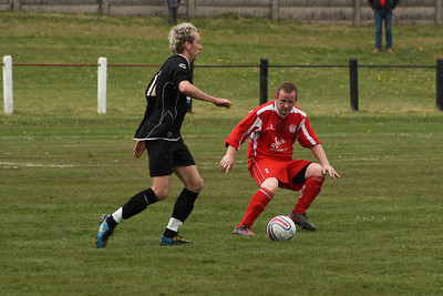 Aidan Lennon facing up to the ball