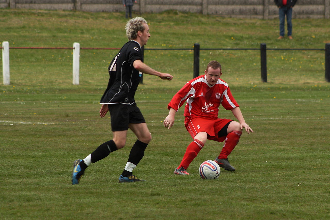 Aidan Lennon facing up to the ball