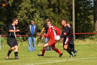 Burgh's Bennett in midfield action