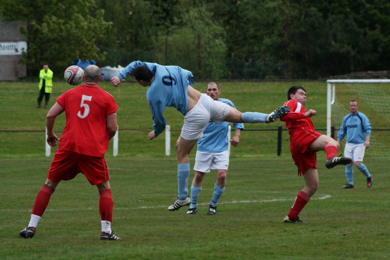 Joe McGinley in action
