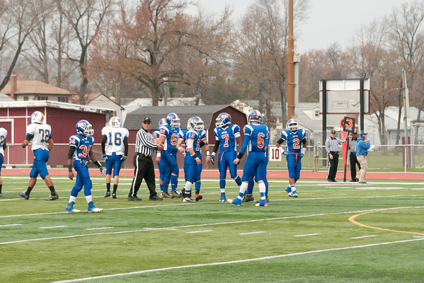 2012-11-10 Dayton Boys Varsity Football vs Manville