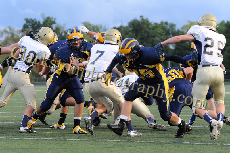 2012 Clarkston JV Football vs  Stoney Creek  049