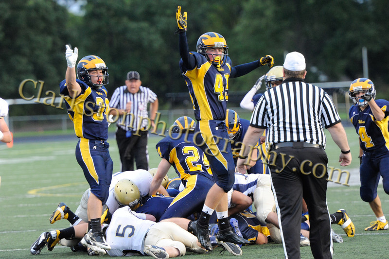 2012 Clarkston JV Football vs  Stoney Creek  018