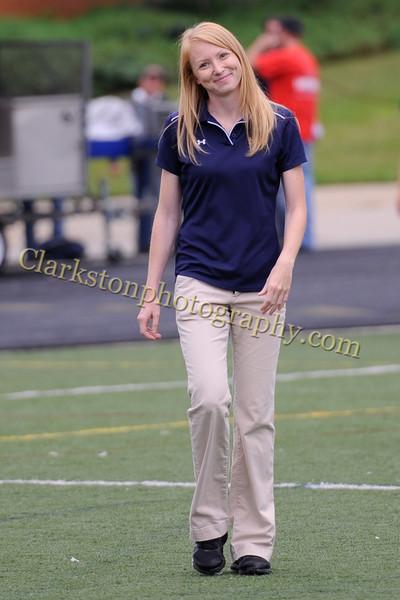 2012 Clarkston Varsity Football Blue-Pink game 060