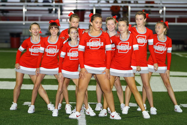 7th and 8th Cheerleaders 8_29_12