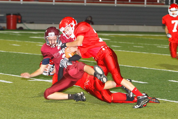 Sheridan 8th Grade vs John Glenn 9-26-12