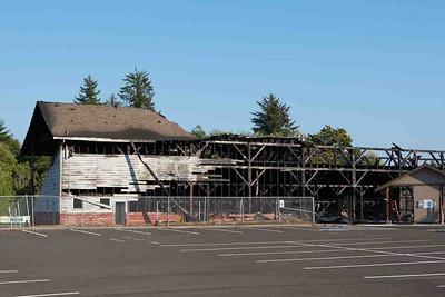 Stadium fire occurred on September 16, 2012