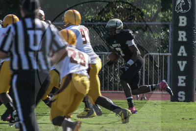UNCP  Football plays Charleston West Virginia on Saturday, October 13th, 2012. print_Charleston_0156.jpg