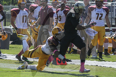 UNCP  Football plays Charleston West Virginia on Saturday, October 13th, 2012. print_Charleston_0120.jpg