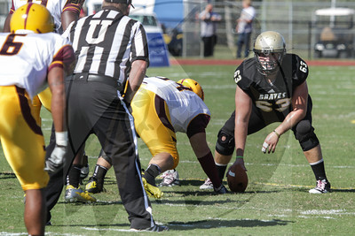 UNCP  Football plays Charleston West Virginia on Saturday, October 13th, 2012. print_Charleston_0005.jpg