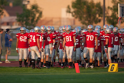 SF Football - Pre-Game and Levi Mitchell Sept 21st 2012