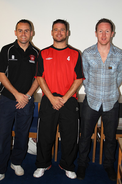 Three of Burgh's new signings, Johns Paul McKeown, John Sherry and Willie Stuart, all resigned for the current season