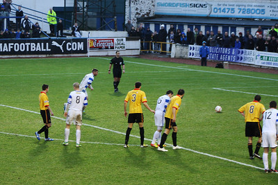 Morton 2 Partick Thistle 2, Irn Bru Scottish Football League Championship First Division, 16th February 2013