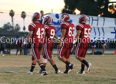 2012 La Serna Football vs Norco 09/21