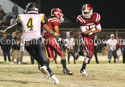 2012 La Serna Football vs Santa Fe 10/25