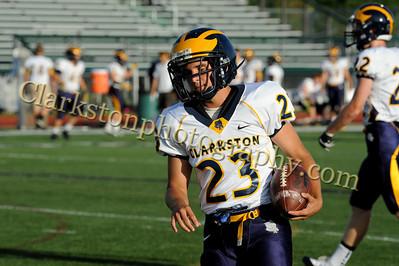 2013 Clarkston Varsity Football vs  WB Image 004