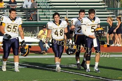 2013 Clarkston Varsity Football vs  WB Image 012