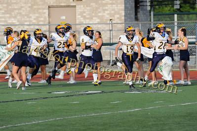 2013 Clarkston Varsity Football vs  WB Image 026