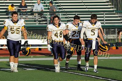 2013 Clarkston Varsity Football vs  WB Image 011