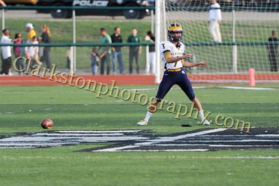 2013 Clarkston Varsity Football vs  WB Image 038