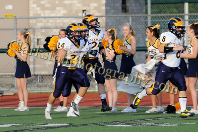 2013 Clarkston Varsity Football vs  WB Image 028