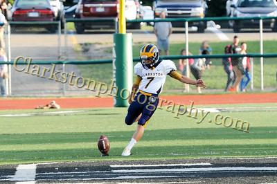 2013 Clarkston Varsity Football vs  WB Image 044