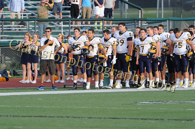 2013 Clarkston Varsity Football vs  WB Image 035