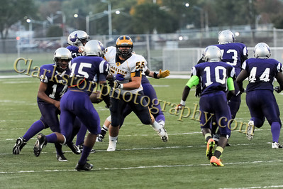 2013 Clarkston Varsity Football vs  Pontiac Creek  003