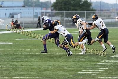 2013 Clarkston Varsity Football vs  Pontiac Creek  035